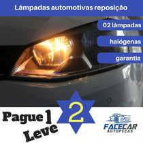Lâmpadas Automotivas Vw Gol G5 Farol Alto+ Baixo 08 A 12