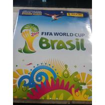 Album Fifa World Cup Brasil 2014 Atualizado Novos Cards