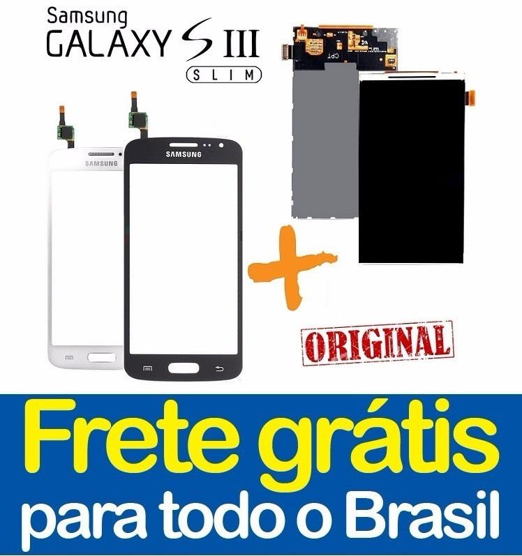 Tela Touch Visor+lcd Display Galaxy S3 Slim G3812b Envio Já!