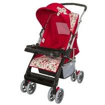 Carrinho De Bebê Tutti Baby Thor - Vermelho