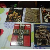 Enciclopédia Dos Museus - 05 Vol. Ed. Mirador (troco)