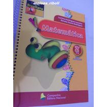Livro Matemática 2º Ano Fund. Coleção Brasiliana Bb