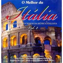 Cd O Melhor Da Itália Vol.02