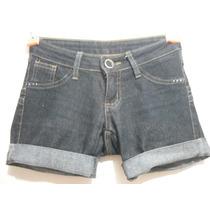 Shorts Jeans Feminino Tam 34 Ótimo Estado
