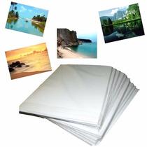 450 Fls Papel Foto Glossy 180g A4 Brilho Prova D'agua-oferta