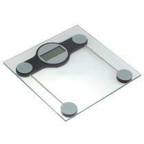 Balança Digital Banheiro Quadrada Vidro Temp. + Frete Grátis