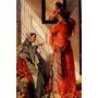 Mulheres Quarto Se Arrumando 1873 Pintor Lewis Tela Repro