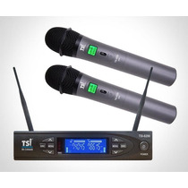 Microfone Tsi U8299 Uhf Na Loja Cheiro De Música Autorizada