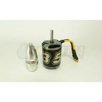 Motor Ntm 35-48a 1100kv 640w Brushless 3548 Com Spinner Aero
