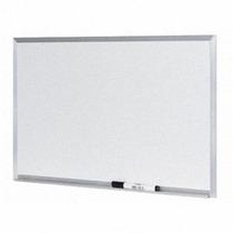 Lousa Quadro Branco Moldura De Aluminio 80 X100 Cm + Brindes