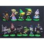 Kit 11 Bonecos The Legend Of Zelda Windwake Furuta Link