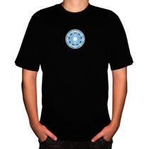 Camisa Super-herói Homem De Ferro Reactor
