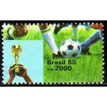 Brasil C 1468 Copa Do Mundo De Futebol 1985 Nnn