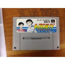 Fita De Super Nintendo Original Japonesa Futebol Virtual