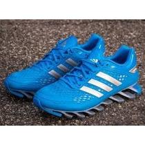 77dc1a5580a adidas springblade azul agua