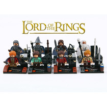 Kit 08 Bonecos O Senhor Dos Aneis - The Hobbit