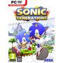 Sonic Generations, Pc Dvd, Midia Fisica, Original, Lacrado