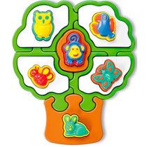 Quebra Cabeça Para Bebê - Mania Árvore - Calesita