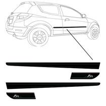 Friso Lateral Do Ford Ka 2013 + Mp + Me + Garantia