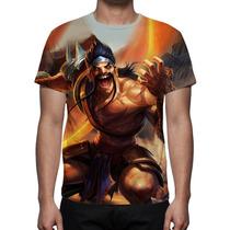 Camisa, Camiseta Game League Of Legends Draven Gladiador