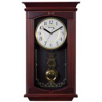 Relógio De Parede Pendulo Quartz Musical Herweg 5314 084