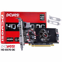 Placa De Video Amd Radeon Hd6570 Low Prof Oc 2gb Ddr5 128bit