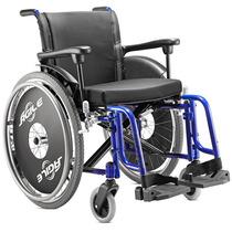 Cadeira De Rodas Cor Azul, Agile - Jaguaribe