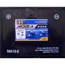 Bateria Moto Moura Ytx12-bs Yuasa Ma10-e 10ah Vstrom 650 Er6