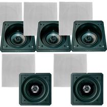 Caixas Para Gesso Bsa Home Teather 5.0 Com 3 Sax6 + 2 Scx6