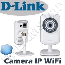 Camera De Vigilância Ip Wireless D-link Dcs-932l 4x Zoom