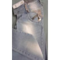 Calça Jeans Set Jeans Com Detalhes Em Pedraria Promoção