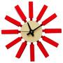 Relógio Decorativo Em Madeira Promoção Em 12x Sem Juros