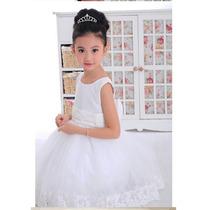 Vestido Dama Daminha Princesa Noivinha Pronta Entrega