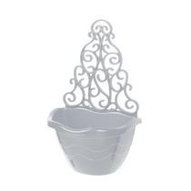 10 Vasos Branco Arandela P/ Orquídeas Terrestres