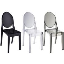 Cadeira Acrílica Louis Ghost- Nf + Garantia + 12x Sem Juros