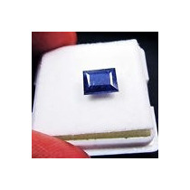 Elegante Safira Azul 2,40 Cts. Pedra Natural.