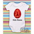 Body De Pascoa Coelho Happy Easter Ovo Egg Chocolate Bigode