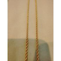 Cordão Baiano De Ouro 18k Italiano 3mm 60cm