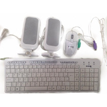 Kit Teclado Mouse E Caixa De Som