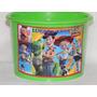 Kit 10 Baldes De Pipoca 1,5 Litro Toy Story