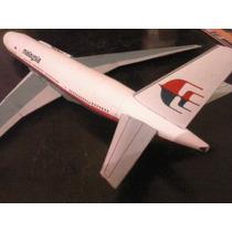 Maquete Aeronave Da Malaysia! Molde De Papel Para Montar!