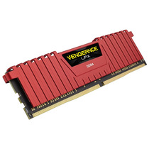 Memória Corsair Ddr4 32gb 2400mhz Vengeance Lpx (4x8gb) Red