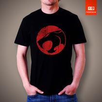 Camisetas Thndercats Tv Desenho Heroi Lion Thunder Cats Logo