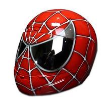 Capacete Personalizado Grafitado Spider Man Mixs
