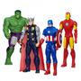 Kit 4 Bonecos Marvel Avengers Vingadores 30 Cm Hasbro