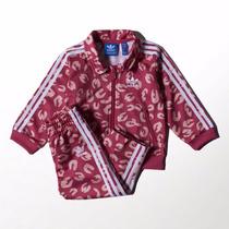Conjunto Agasalho Adidas Firebird Infantil Novo 1magnus