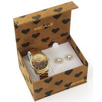 Relógio Seculus Feminino 28477lpsgda1k1