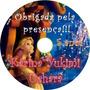 50 Cds Dvds Personalizados - Apenas R$1,50 Cada Unidade!