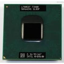 Processador Intel Dual Core Mobile T3400 Slb3p 2.16 1m 667