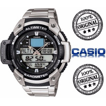 Relógio Casio Outgear Sgw-400-hd-1bv Aço Altimetro Barometro